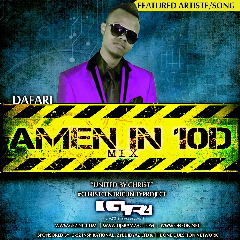 Amen in 10D -Dafari